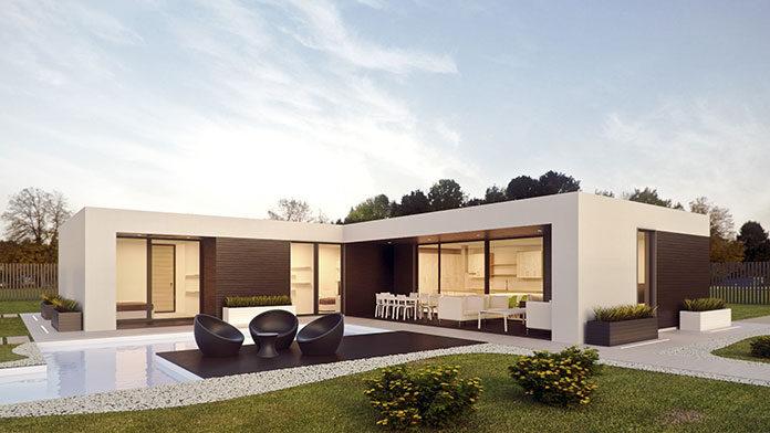 Nowoczesne projekty domów z płaskim dachem